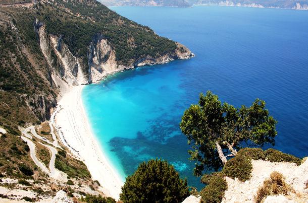 Myrtos Beach Kefalonia Isle