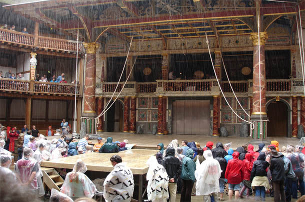 Shakespeare Globe Interior