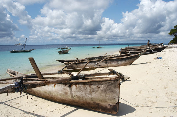 Pemba Island Fishing Boats